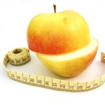 apple with measure tape #2